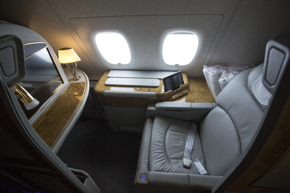 Flying with Emirates Airbus A380