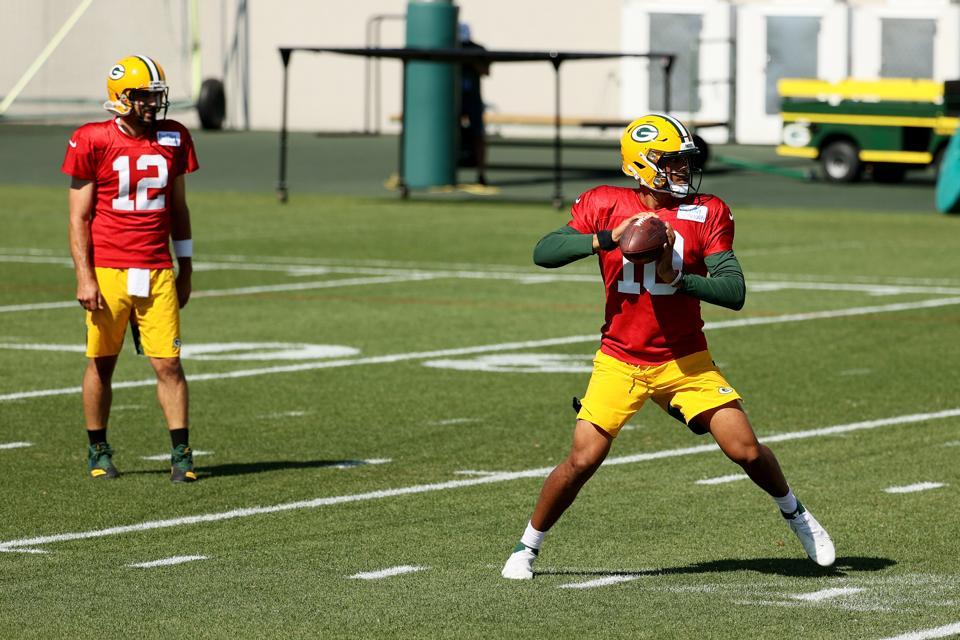 Packers' Jordan Love Off To An Impressive Start