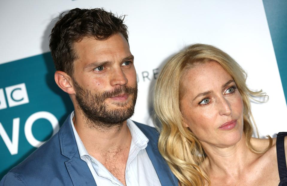 Jamie Dornan and Gillian Anderson BBC Two Drama 'The Fall' - Launch Of Series Three