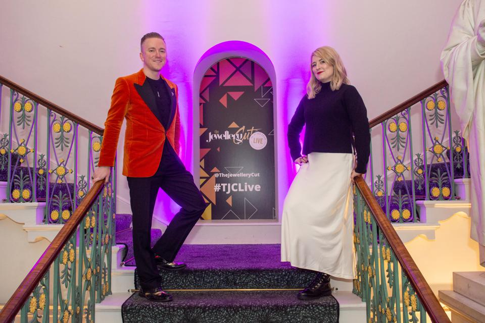 The Jewellery Cut co-founders, Andrew Martyniuk and Rachael Taylor