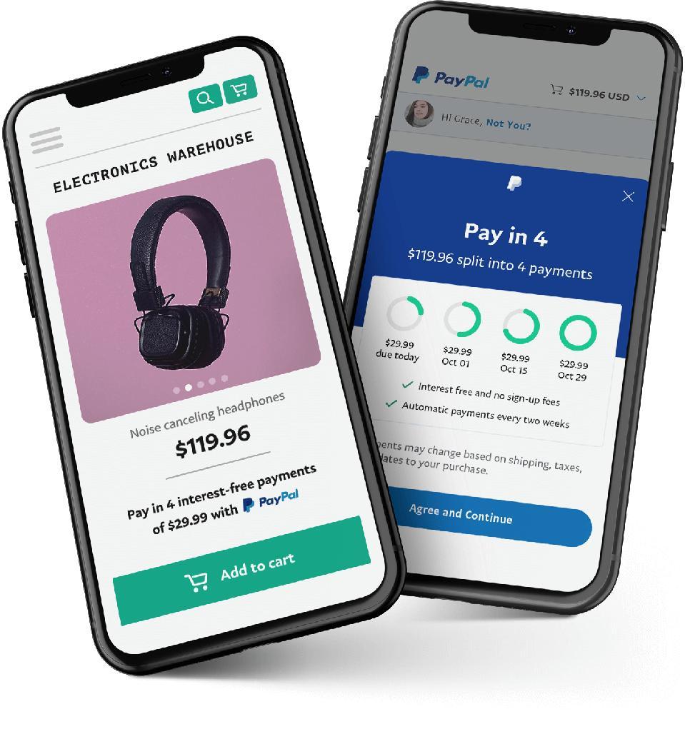 PayPal installment loans