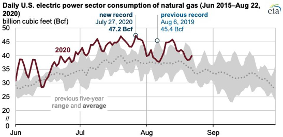 US electricity producers are relying more and more on natural gas. Are they too reliant?