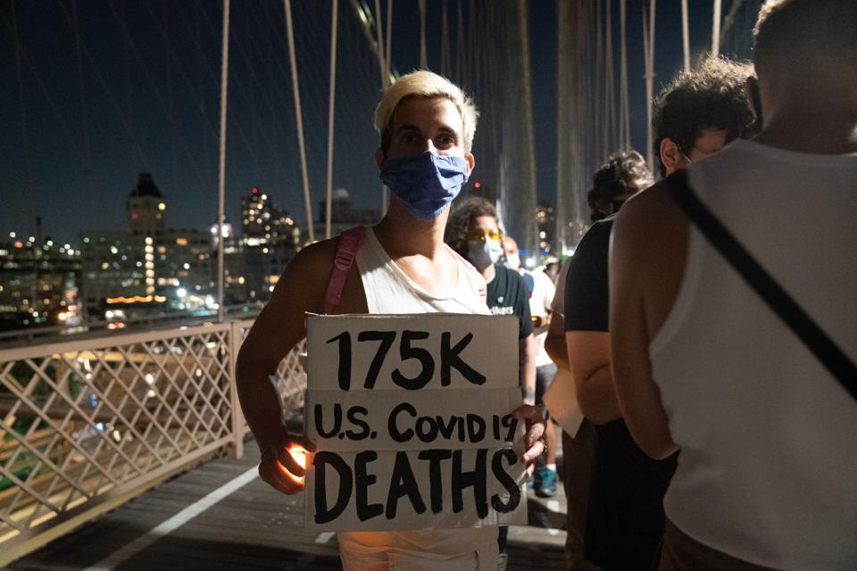 US-HEALTH-VIRUS-PROTEST Covid-19 coronavirus
