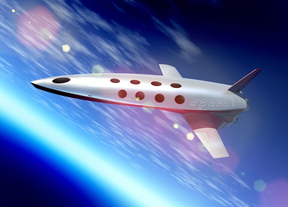 Space tourism, artwork