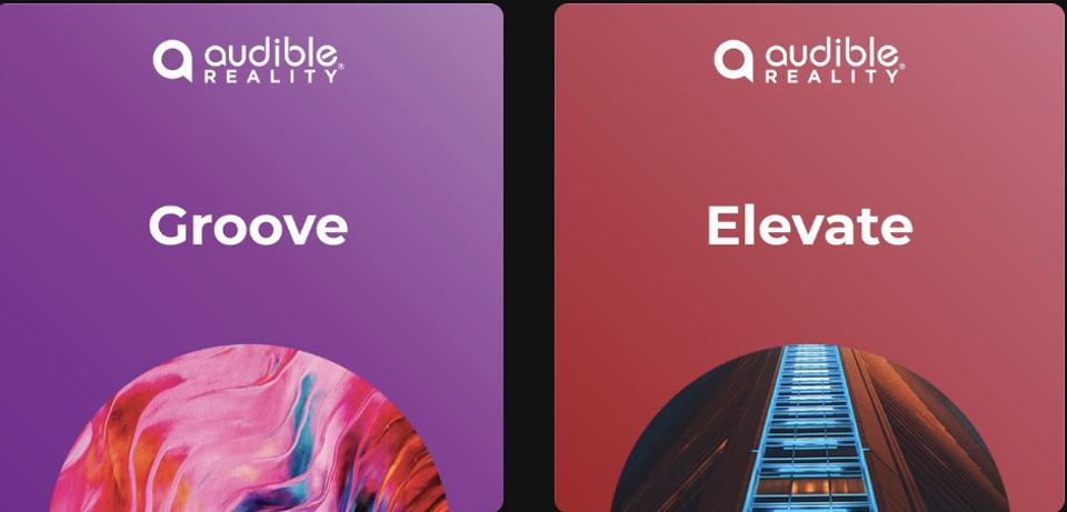 Audible Reality enables creators to customize song mixes, and fans to access & share them.