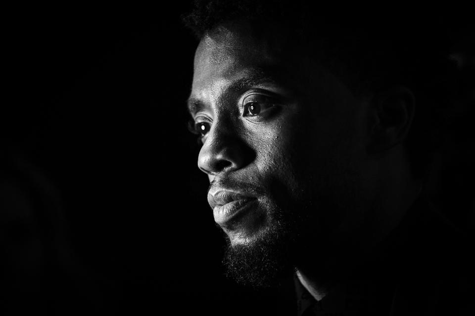 European Premiere Of Marvel Studios' Black Panther, Chadwick Boseman