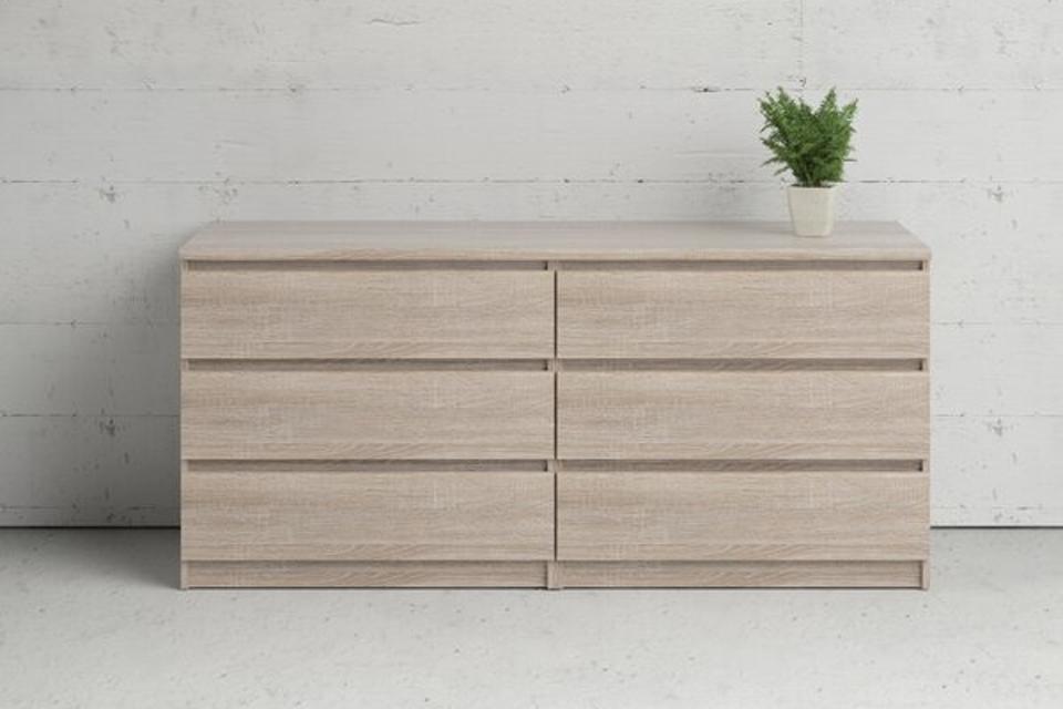 Zipcode Design Kepner 6 Drawer Double Dresser