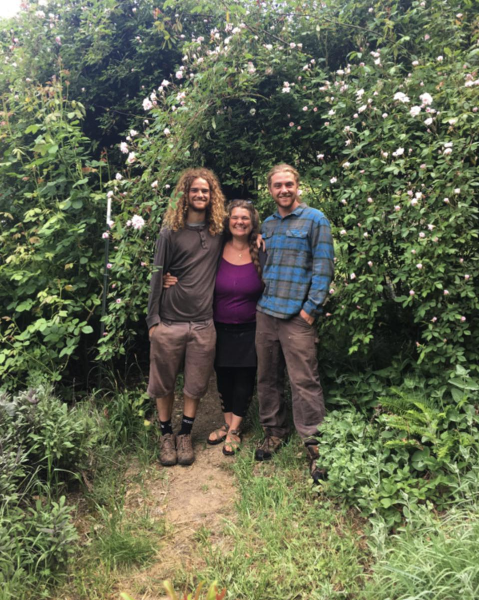 Sons + Earth Mother: Joseph Haggard, Katie Jeane, River Haggard.
