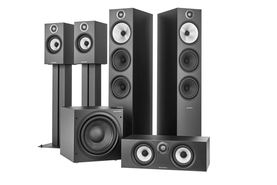 Bowers & WIlkins complete 600 Series range