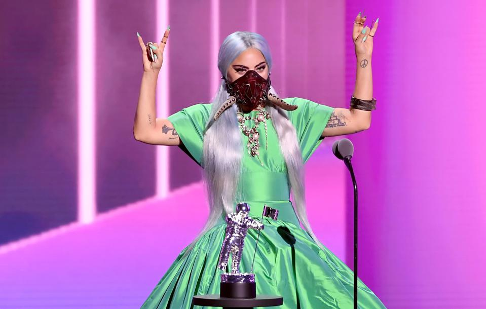 Lady Gaga Saves The 2020 MTV VMAs