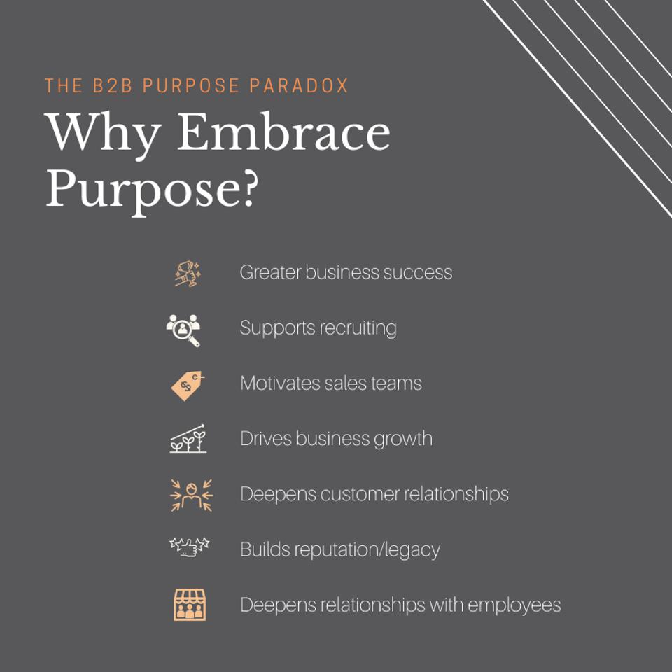 Why Embrace Purpose graphic