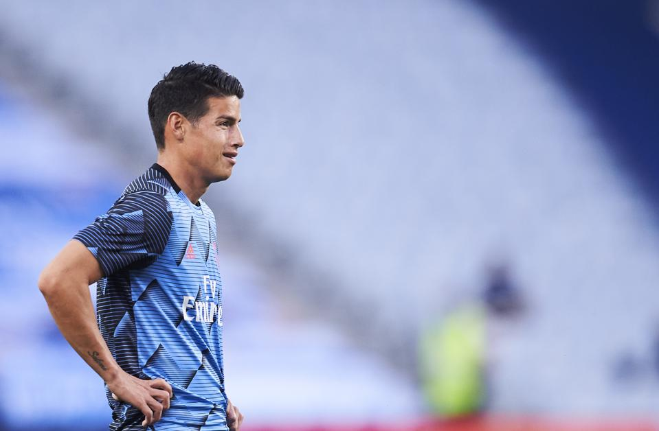 James Rodriguez Set For Everton Transfer In 30 Million Deal From Real Madrid
