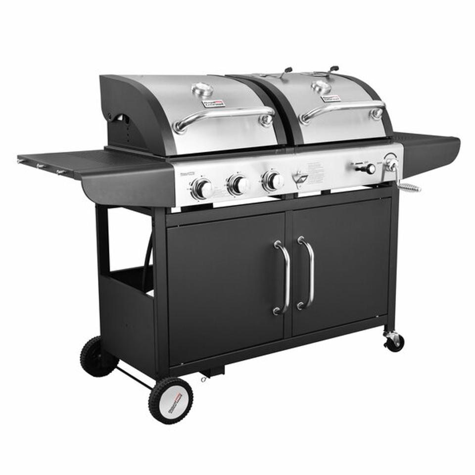 Royal Gourmet Corp Performance 3-Burner Liquid Propane Gas and Charcoal Grill