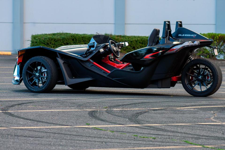 2020 Polaris Slingshot R 3-wheeled motorcycle