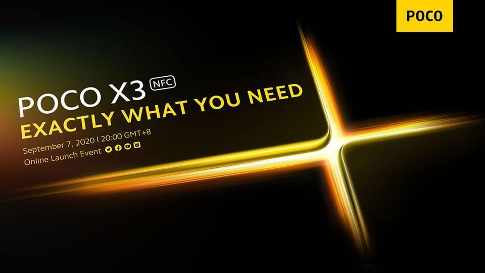 POCO X3 NFC Announcement
