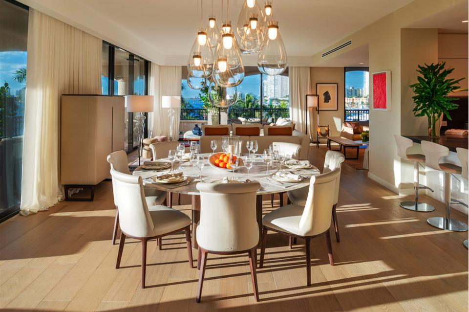 Poltrona Frau, Palazzo Della Luna, Italian design, bespoke leather, Kobi Karp, Miami, Fisher Island