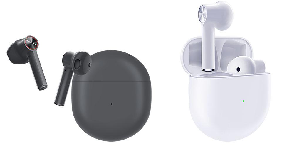 OnePlus Buds In Gray And White
