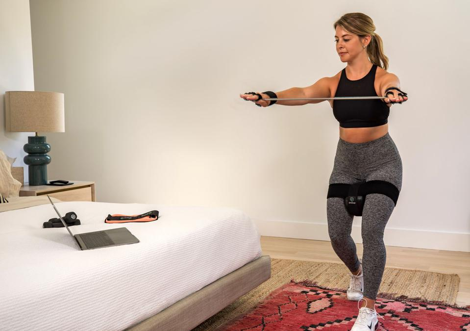 p.volve, at-home workout, virtual fitness, digital fitness, covid-19 pandemic