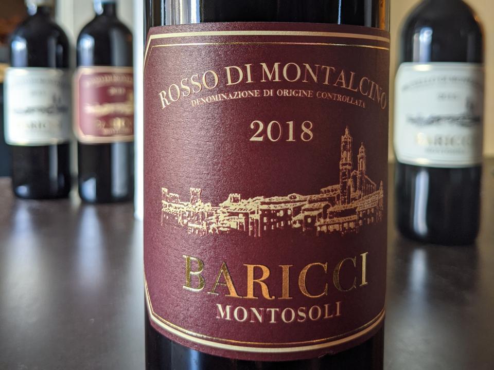 2018 Baricci, Rosso di Montalcino