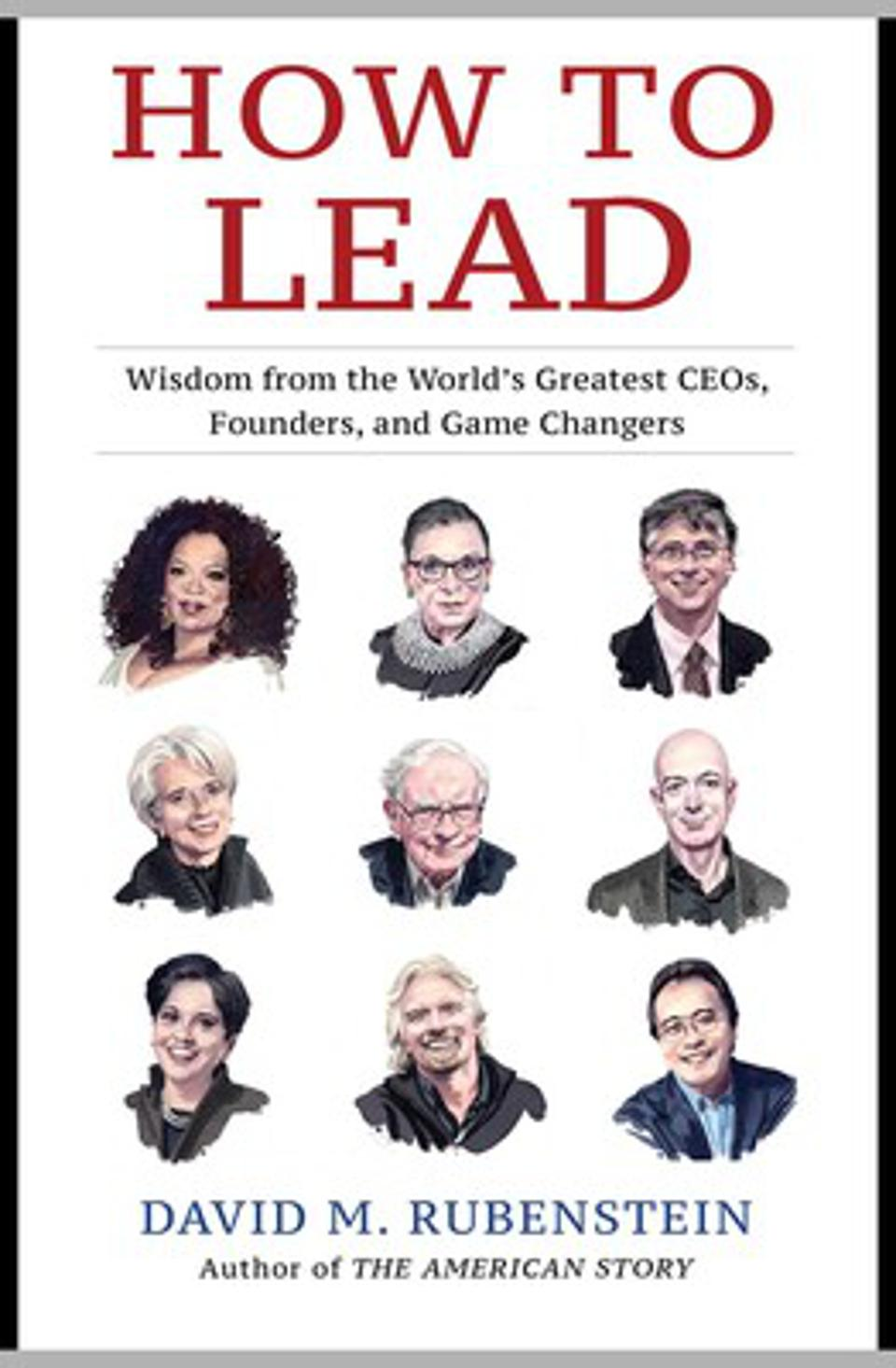 David Rubenstein How to Lead