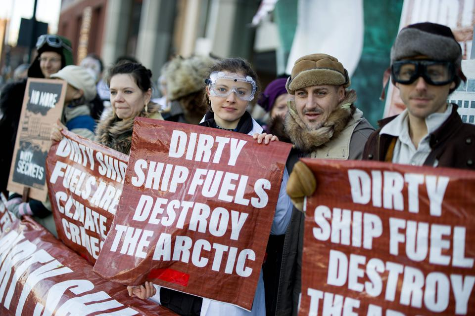 BRITAIN-ENVIRONMENT-CLIMATE-SHIPPING-MARITIME