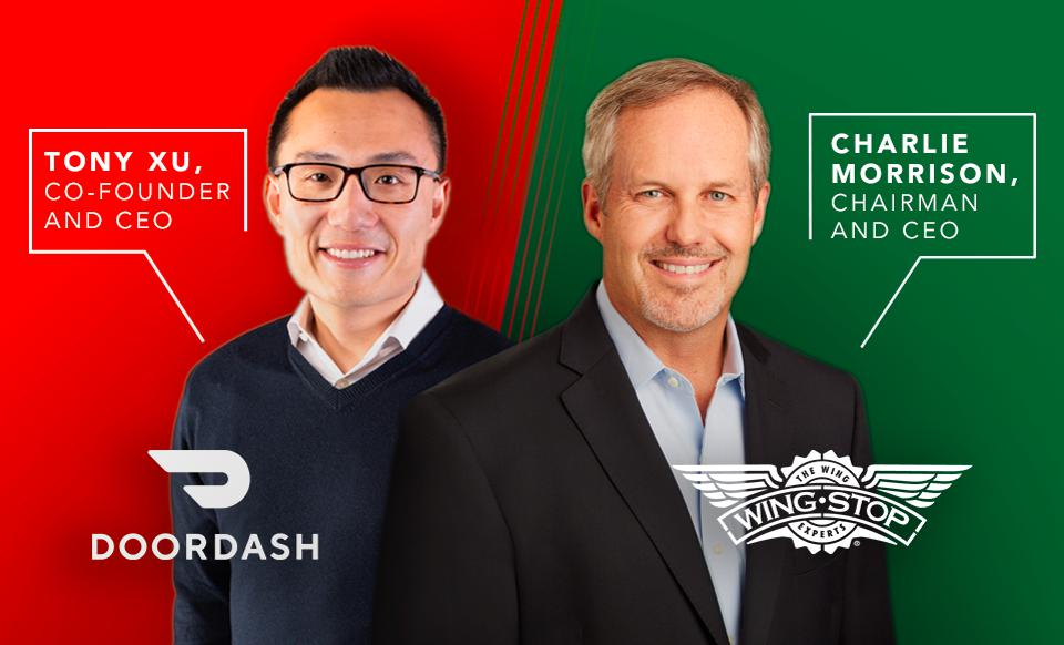 Wingstop has an exclusive delivery partnership with DoorDash.