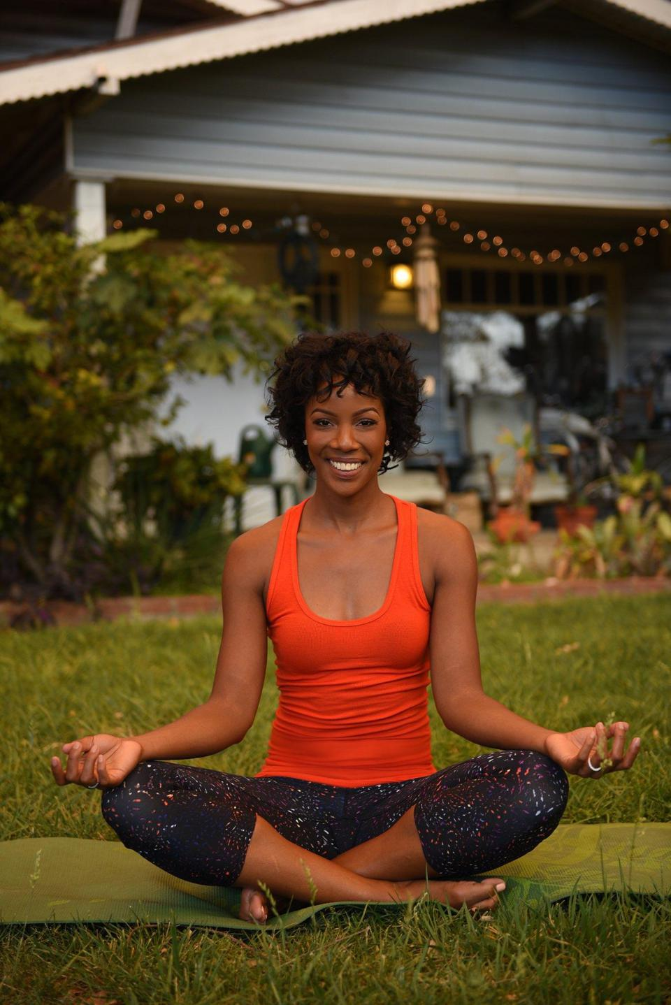 Certified life Coach and yoga instructor Samora Suber