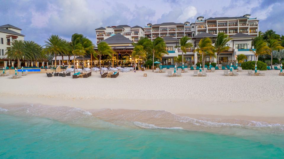 Boutique hotel on Anguilla oceanfront.