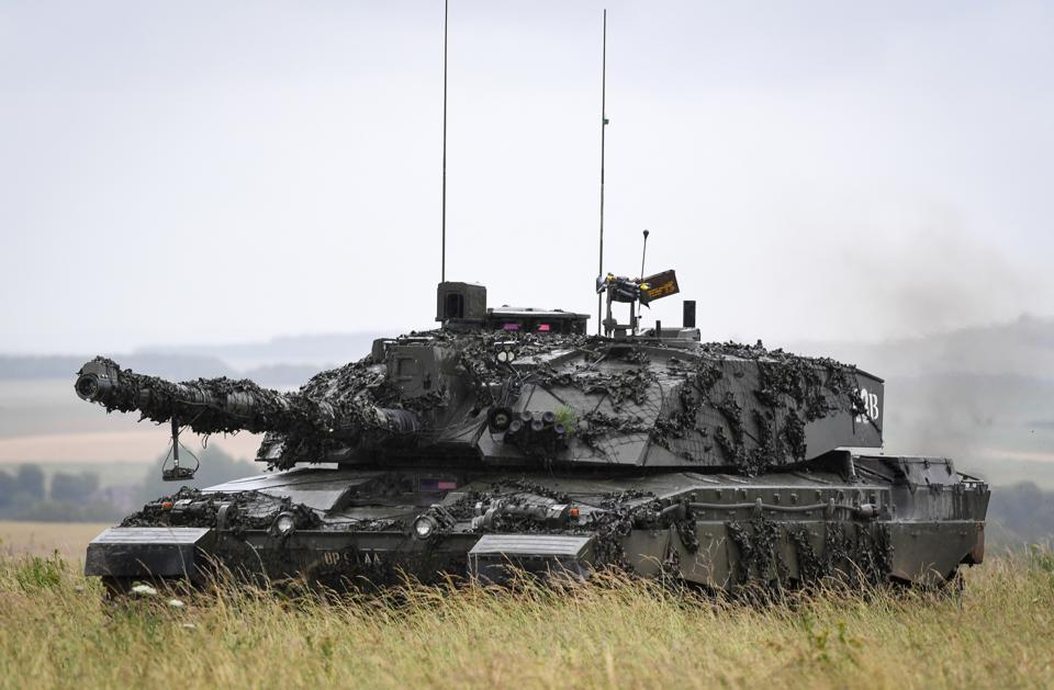 5 RIFLES Battlegroup Conduct Exercise For Deployment On Op CABRIT