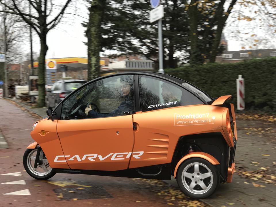 e-trike car.
