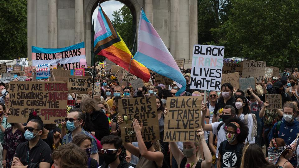 Black Trans Lives Matter Protest in London