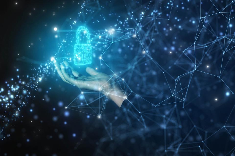 Security padlock protection in network data
