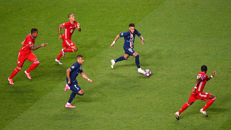 the statistic that shows how bayern munich and paris saint germain reached the champions league 2019 20 final statistic that shows how bayern munich