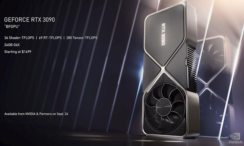 GeForce RTX 3090 Specs