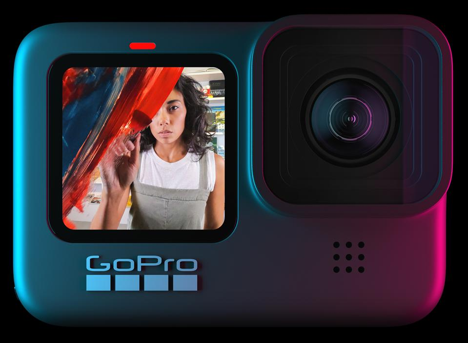 GoPro Hero 9 Black front screen