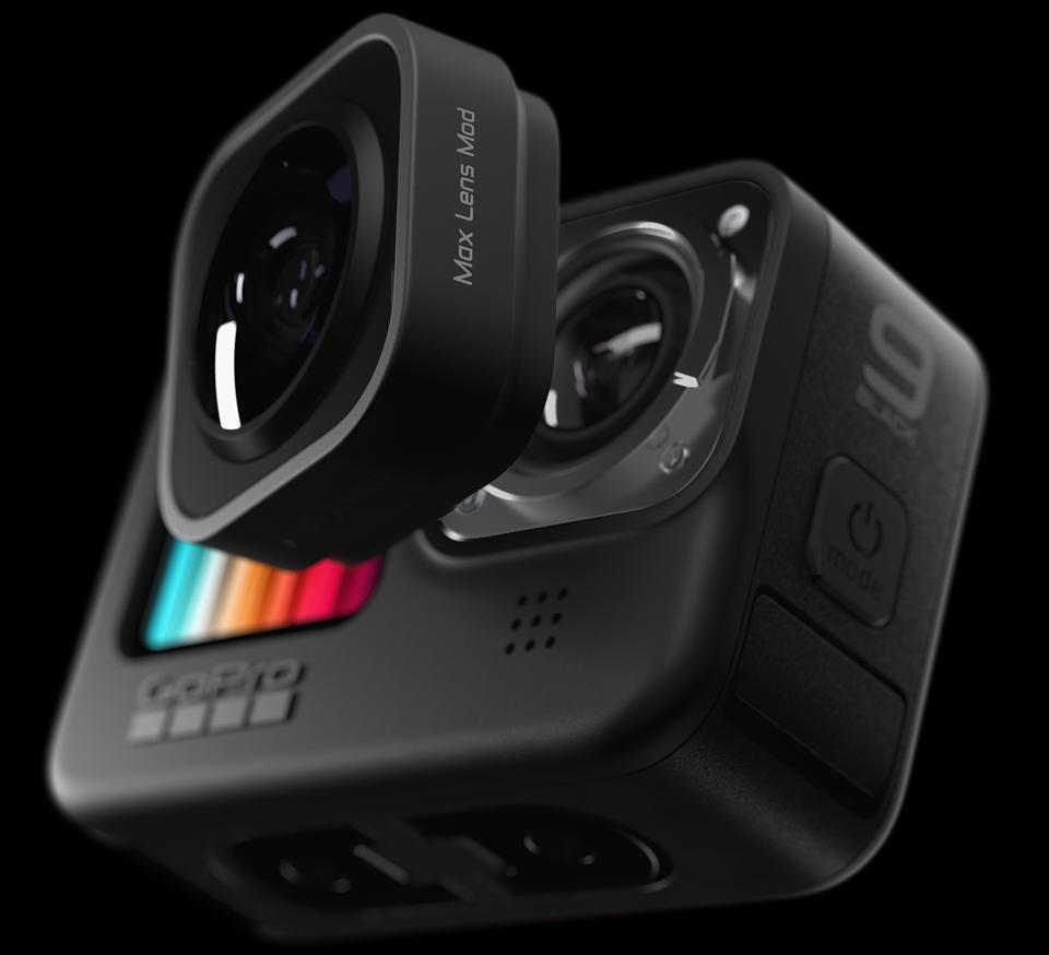 GoPro Hero 9 Black Max Lens Mod.