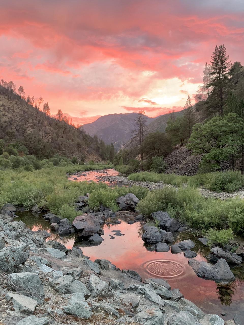 Yosemite National Park, sunset