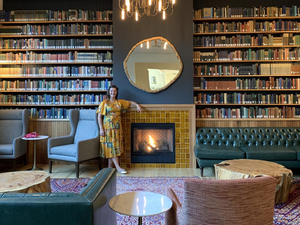 Lounge at The Society Hotel Bingen