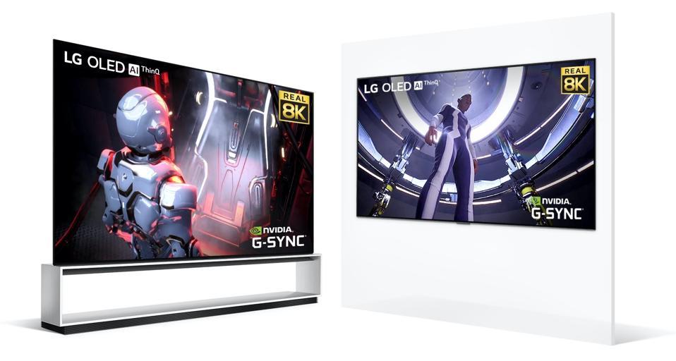 LG OLED88ZX and OLED77CX
