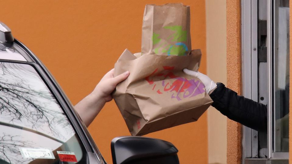 Taco Bell drive-thru.