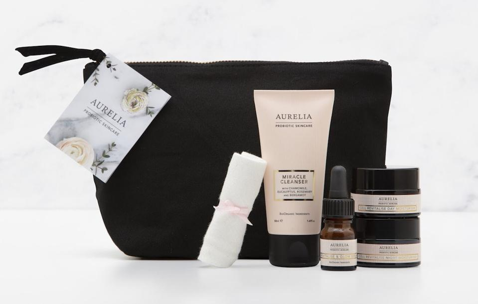 travel bag with small samples