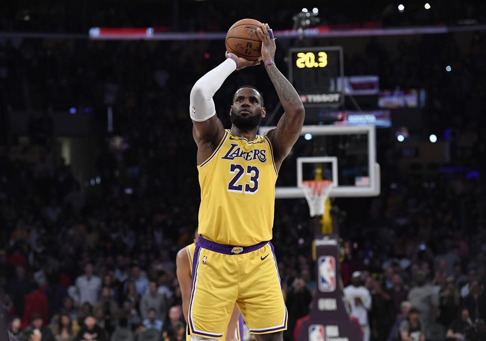 LeBron James NBA Los Angeles Lakers