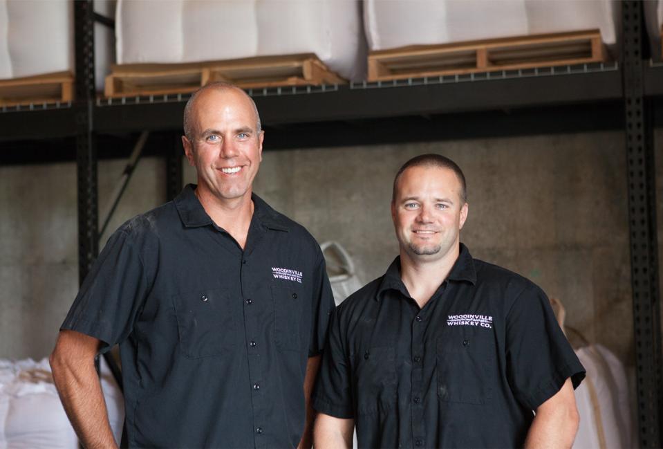 Orlin Sorensen & Brett Carlile Founders, Woodinville Whiskey Co.