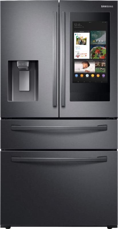 Samsung Family Hub 27.7 Cu. Ft. 4-Door French Door Fingerprint Resistant Refrigerator