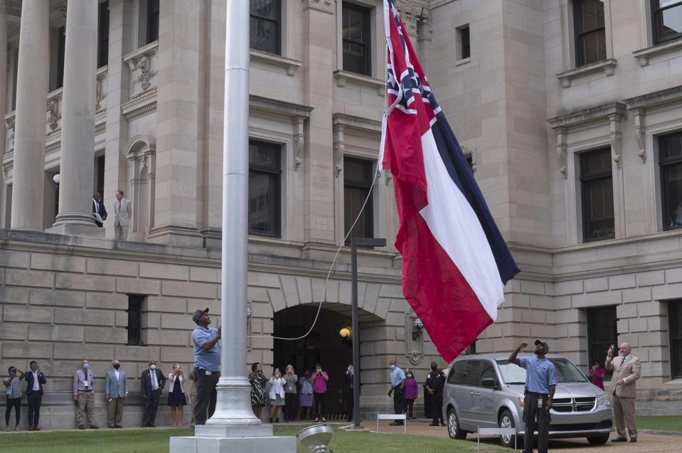 U.S.-MISSISSIPPI-STATE FLAG-CONFEDERATE EMBLEM-REMOVAL
