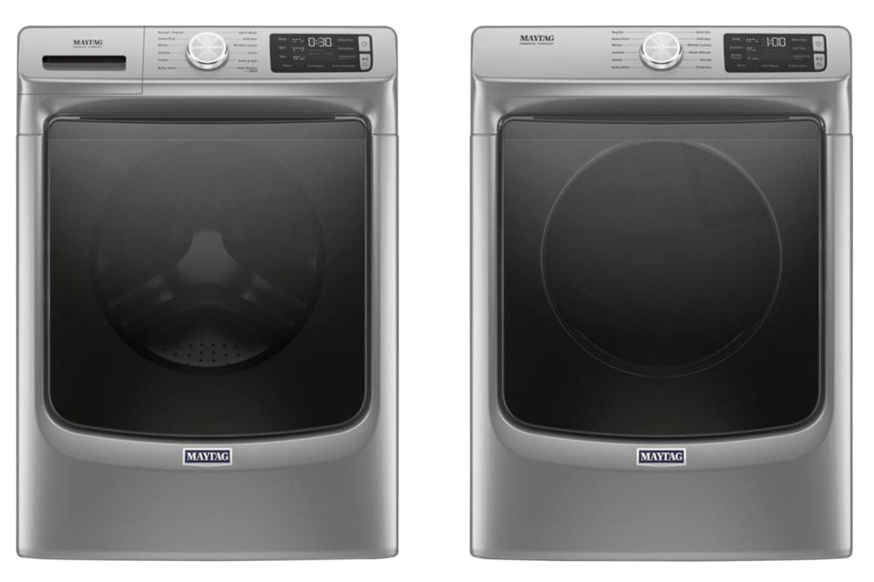 Maytag Front-Loading Washer and High-Efficiency Electric Dryer