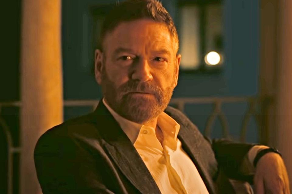 Kenneth Branagh plays a villainous Russian arms dealer in 'Tenet.'