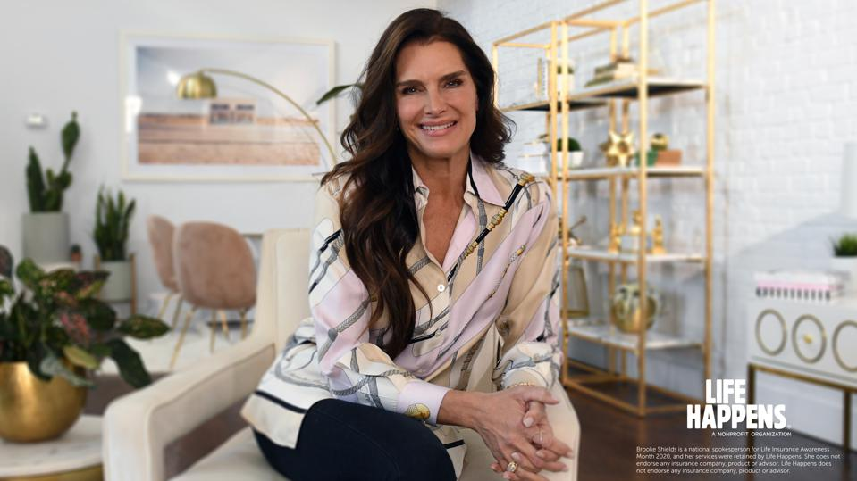 Brooke Shields partners with Life Happens to educate and spread awareness on value of life insurance