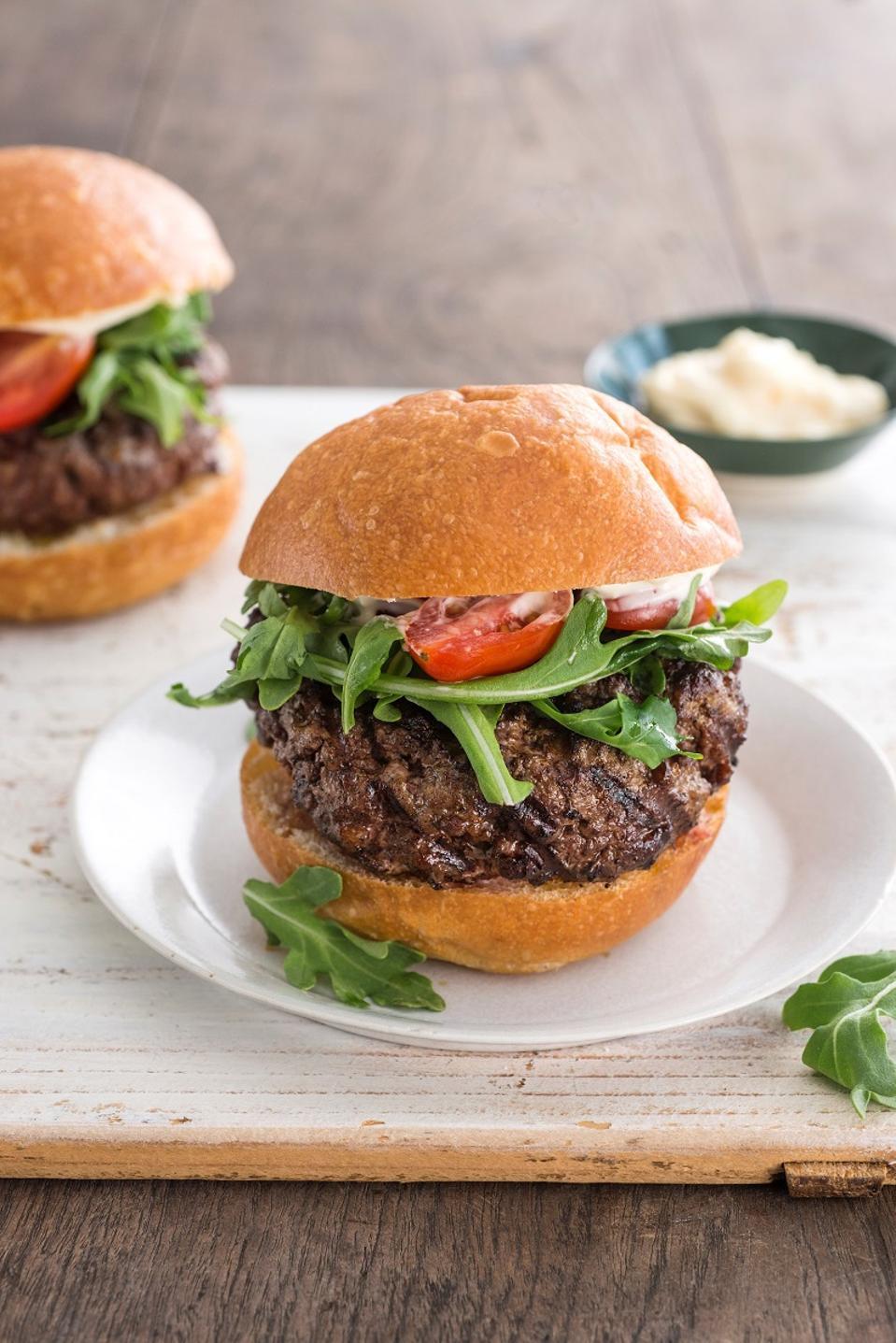 Pat LaFrieda burger