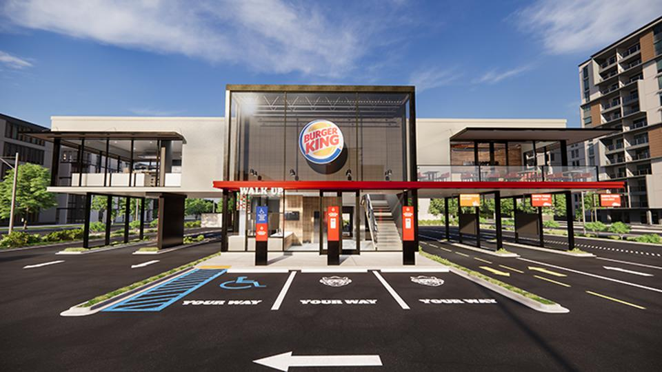 "Burger King's ""Restaurant of Tomorrow"""